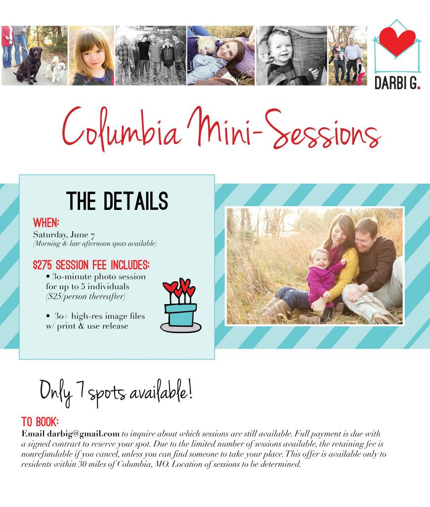 Columbia Missouri family and children photographer