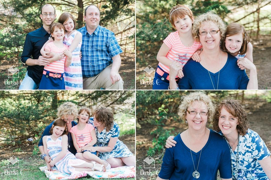 Kansas City Lenexa Shawnee Family child photographer at Antioch Park