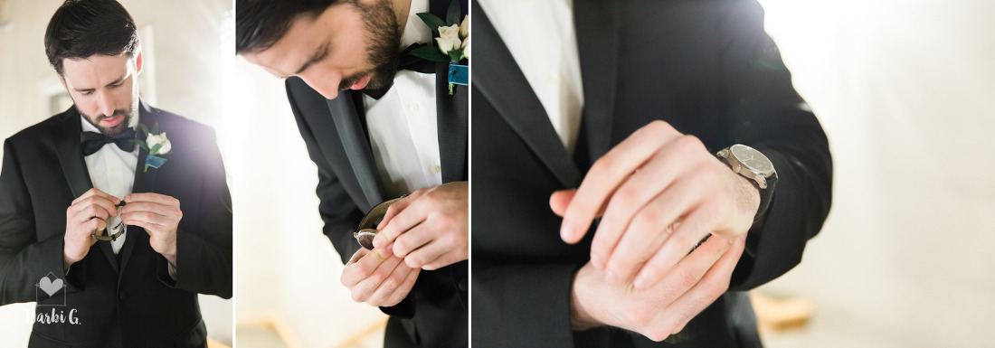 wedding preparations getting ready Kansas City